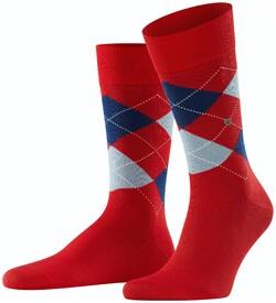 Burlington Manchester Socks Scarlet