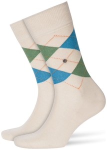 Burlington Manchester Socks Sesame