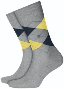 Burlington Manchester Socks Tar Melange