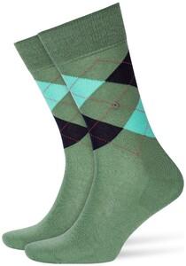 Burlington Manchester Sokken Khaki Green