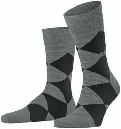 Burlington Multi Clyde Socks Grey