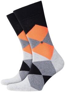 Burlington Neon Clyde Socks Black