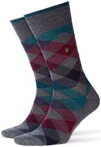 Burlington Newcastle Socks Basalt