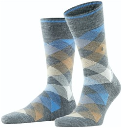 Burlington Newcastle Socks Dark Gray