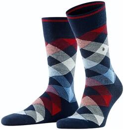 Burlington Newcastle Socks Dark Marine