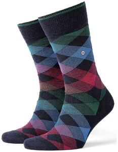 Burlington Newcastle Socks Marine