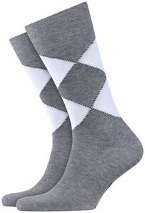 Burlington Organic Socks Sokken Licht Grijs