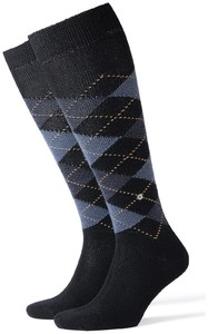Burlington Preston Knee-Highs Dark Navy