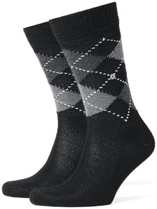 Burlington Preston Socks Dark Pearl