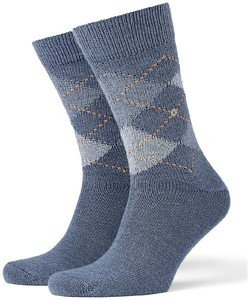 Burlington Preston Socks Orion Blue