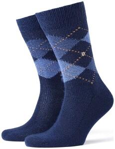 Burlington Preston Socks Royal Blue