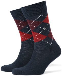 Burlington Preston Socks Steel Blue