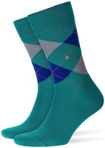 Burlington King Socks Moss Melange