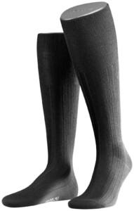 Falke No. 2 Finest Cashmere Kniekousen Black