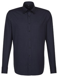 Seidensticker Covered Button Down Near Black