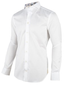 Cavallaro Napoli Abele Overhemd Wit