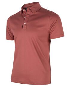Cavallaro Napoli Agento Polo Poloshirt Dark Pink