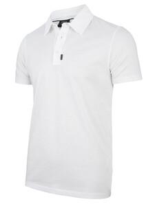 Cavallaro Napoli Agento Polo Poloshirt White