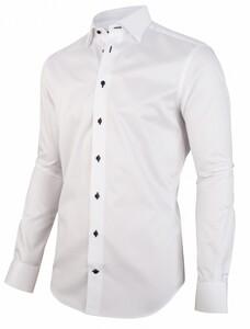 Cavallaro Napoli Albano Overhemd Wit
