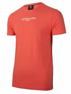Cavallaro Napoli Albaretto Tee T-Shirt Coral
