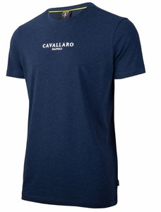 Cavallaro Napoli Albaretto Tee T-Shirt Donker Blauw
