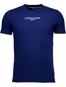 Cavallaro Napoli Albaretto Tee T-Shirt Marine Blue