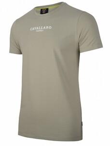 Cavallaro Napoli Albaretto Tee T-Shirt Mid Green