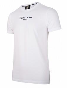 Cavallaro Napoli Albaretto Tee T-Shirt Optical White