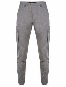 Cavallaro Napoli Alessio Trousers Pants Grey Melange