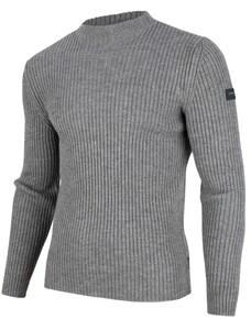 Cavallaro Napoli Bastone Pullover Mid Grey