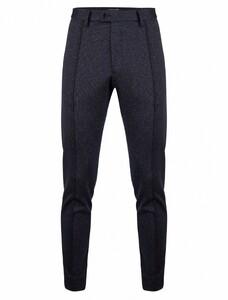 Cavallaro Napoli Bernardo Trousers Pants Dark Evening Blue