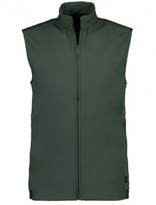 Cavallaro Napoli Caldonazzo Waistcoat Cardigan Dark Green