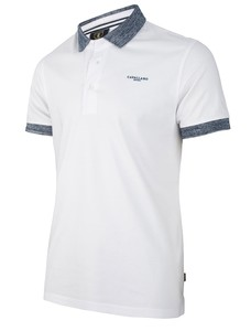 Cavallaro Napoli Carlo Poloshirt Optical White
