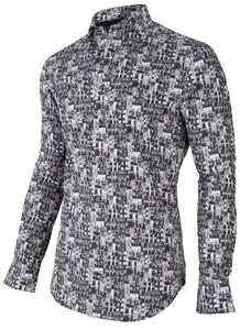Cavallaro Napoli Casamio Overhemd Zwart