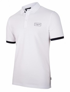 Cavallaro Napoli Cavallaro Sport Polo Poloshirt White