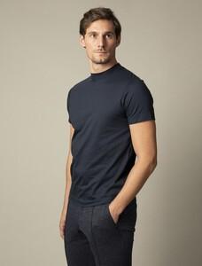 Cavallaro Napoli Chiavari Tee T-Shirt Donker Blauw