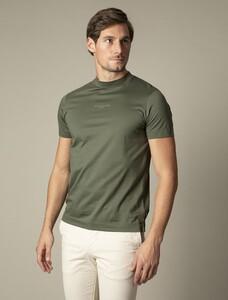 Cavallaro Napoli Chiavari Tee T-Shirt Donker Groen