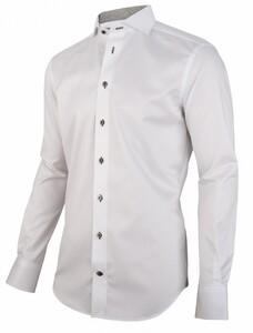 Cavallaro Napoli Colombo Overhemd Wit