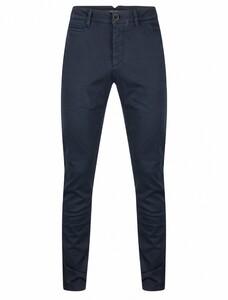 Cavallaro Napoli Elio Chino Pants Dark Evening Blue