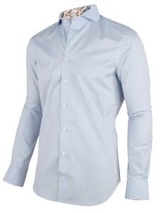 Cavallaro Napoli Ferro Overhemd Licht Blauw