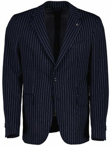 Cavallaro Napoli Festo Jacket Colbert Donker Blauw