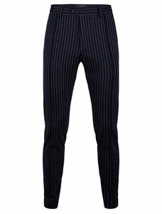 Cavallaro Napoli Festo Trousers Pants Dark Evening Blue