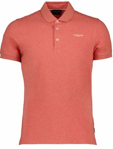 Cavallaro Napoli Fine Poloshirt Poloshirt Coral