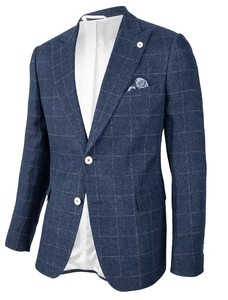 Cavallaro Napoli Gadoni Jacket Dark Evening Blue