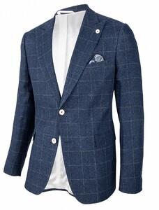 Cavallaro Napoli Gadoni Jacket Dark Evening Blue