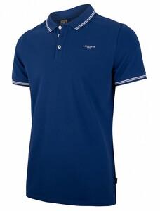 Cavallaro Napoli Garmino Polo Poloshirt Marine Blue