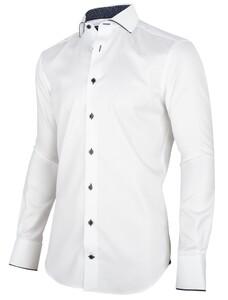 Cavallaro Napoli George Overhemd Wit-Navy
