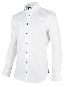 Cavallaro Napoli Giorgio Overhemd Wit