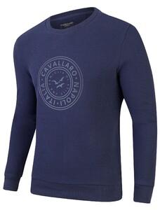 Cavallaro Napoli Giorgio Sweat Pullover Navy