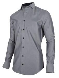 Cavallaro Napoli Grigi Overhemd Donker Grijs